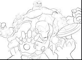 The Avengers Coloring Page Free Colouring Pages To Print Pdf For