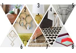 geometric home decor hello lidy