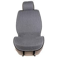 1 piece car front seat cover pad artificial linen automobile single cushion o shi car universal