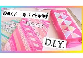 Back to school diy: quaderni graffette e astuccio fai da te