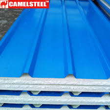 cold rolled technique colored galvanized sheet metal painting galvanized steel prefab house metal material