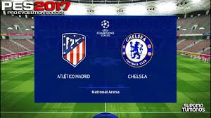 PES 2017 I Atletico Madrid vs Chelsea Champions League Match 2021 - YouTube