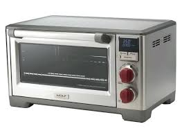 wolf gourmet elite convection oven stainless steel with knob countertop cbg100sc wolf countertop convection