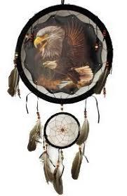 Double Dream Catchers Amazon Decorative Dream Catcher with Double Eagle Print 79