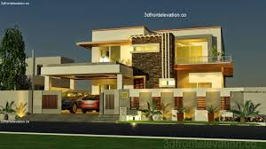 3d Front Elevation Com 1 Kanal House Plan Layout 50 X 90 3d
