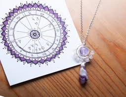 Personalized Jewelry Astrology Necklace Custom Necklace With Natal Chart Individual Crystals Pendant Birthday Gift Personalized Gift