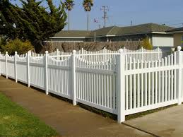 fence styles. Modren Styles Photo 01  Scalloped Top Picket  On Fence Styles