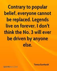 Belief Quotes Amazing Teresa Earnhardt Quotes QuoteHD