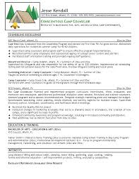 Ideas Collection Day Camp Counselor Resume Example Beautiful Sample