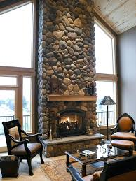 prissy design indoor stone fireplace pics 0