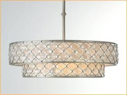45 best collection of large drum shade chandelier within plans 3