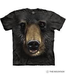 Black bear t-shirts adult