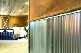 corrugated metal wall covering pole barn interior wall covering amazing finishing corrugated metal garage walls design
