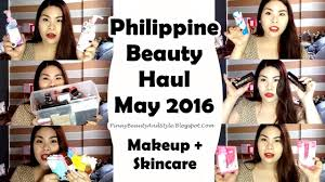 philippine beauty haul makeup and skincare may 2016 lish pinaybeautyandstyle you