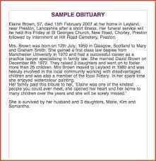 sample of obituary obituaries samples sample obituary jpg proposal bid template