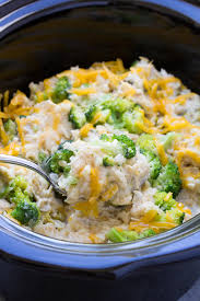 Cooking Light Chicken Rice Casserole Slow Cooker Chicken Broccoli And Rice Casserole