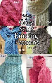 Free Scarf Knitting Patterns Simple Cozy Scarf Knitting Patterns In The Loop Knitting