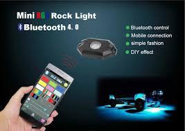 4 pods multi color bluetooth control led underglow lighting kit ledworld com led light bars off road lights led strobe lights