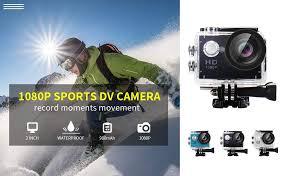 YUNTAB Sport Action Camera Vlog DV, <b>HD 1080P</b> 2.0 inch, <b>5MP</b>