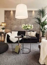 black and white living room idea 7