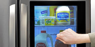 high tech refrigerator. Delighful High This Fridge With A Seethrough Door Could Be The Future Of Hightech  Kitchens To High Tech Refrigerator N