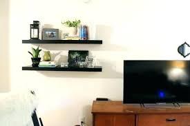 hang shelf with command strips hanging floating shelves with command strips styled living room strip shelf