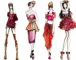 drawings fashion designs career in fashion design average salary sketches