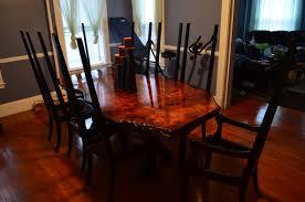 Redwood Slab Dining Table Longleaf Lumber Martins Salvaged Redwood Table