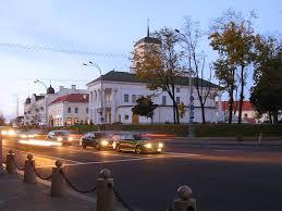 Ратуша в Минске Площадь Свободы Ратуша на площади Свободы в  Ратуша на площади Свободы в Минске День города Фото