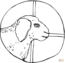 Small Picture Sheep Head coloring page Free Printable Coloring Pages