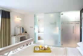 white sliding glass door bedroom master doors