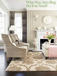 What Size Area Rug Do You Need  The DecorologistLiving Room Area Rug Size