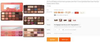 limecrime too faced kat von d cosmetics mac anastasia beverly hills and the list goes on these brands are selling for dirt i e r150 00 for