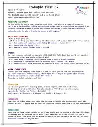 Exelent Best Cv Template For First Job Frieze - Resume Ideas ...