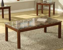 coffee tables ideas set of marble table sets faux oval within entertaining pleasant 10