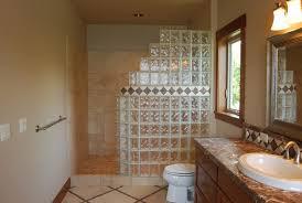 stupendous bathrooms glass block shower designs showers