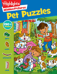 It was the first thing i would look for in the magazine. Pet Puzzles Highlights Sticker Hidden Pictures Highlights 9781629798424 Amazon Com Books