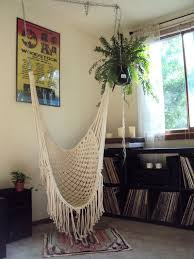 The Suspending Hammock Seat is the ...