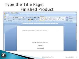 Ms Word Apa Format Collection Of Solutions Apa Format Microsoft Word 2007 Template