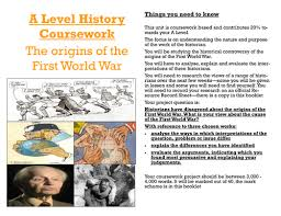 edexcel a level history coursework spec origins of ww  edexcel a level history coursework 2015 spec origins of ww1 complete set of resources by foley0808 teaching resources tes