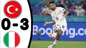 ITALIA VS TURCHIA (3-0), TUTTI I GOL E HIGHLIGHT AMPLIATI/ UEFA EURO 2020 -  YouTube