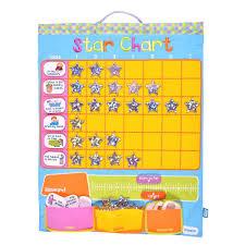 Fiesta Craft Childrens Fabric Star Reward Chart