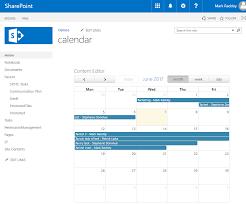Using Fullcalendar Io To Create Custom Calendars In Sharepoint