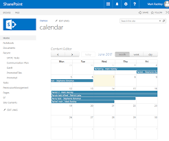 using fullcalendar io to create custom calendars in sharepoint