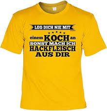 Geschenk Hobbykoch T Shirt Geburtstag Hobby Koch Küchen Shirt Papa