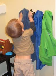 Hanging A Coat Rack Integrate Montessori at Home with a Kid's Coat Rack 84