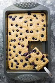 sheet pan cake recipe no flipping meal prep protein pancakes sheet pan sweet peas and