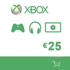 Microsoft Giftcard Microsoft Gift Card 25 Euro Xbox Live