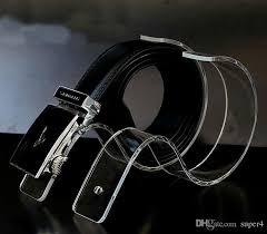 Leather Belt Display Stand Extraordinary Fashion Belt Display Stand Rack Holder Shelf Made Of Acrylic Nice