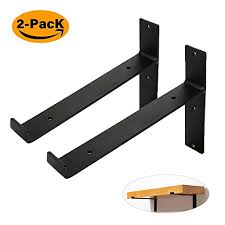 8 inch shelf brackets black wall shelf